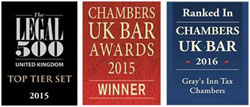 Gray's Inn Tax Chambers are delighted that Nicola Shaw QC has been awarded Tax Silk of the Year at the 2015 Chambers UK Bar Awards.