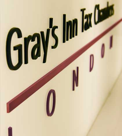 Welcome to Gray's Inn Tax Chambers