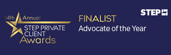 Gray's Inn Tax Chambers are delighted to announce that Laura K Inglis has been shortlisted for Advocate of the Year at the STEP Private Client Awards 2019/20 to be held at the Park Plaza Westminster Bridge Hotel, London on 25 September 2019.